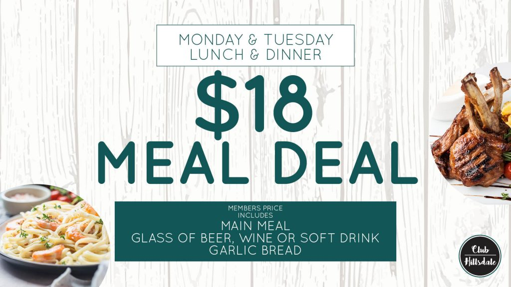 $18 Meal Deal